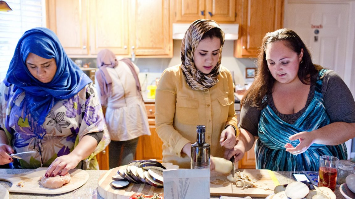Study Abroad: Student in Cooking Contest